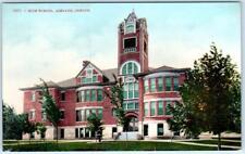 Ashland, Oregon Or High School ca 1910s Postcard