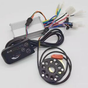 48V 350W  17A 6Mosfets E-Bike Motor Controller with LED 810 meter