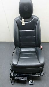 2007 PORSCHE CAYENNE S 957 DRIVERS FRONT RIGHT SEAT IN BLACK LEATHER