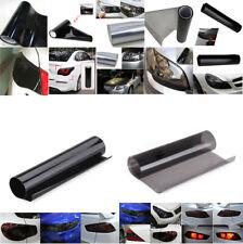 5 Black Color!!  Smoke Headlight Taillight Fog Light Tint Film Vinyl Wrap Cover