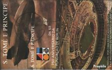Sao Tome e Principe Block 180 gestempeld 1988 Count van Zeppelin