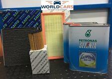 KIT TAGLIANDO 3 FILTRI 4 LT OLIO FIAT PANDA 0.9 TWIN AIR NATURAL POWER DAL 2012