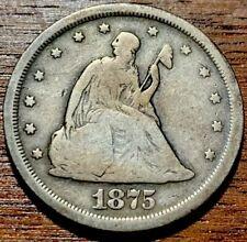 1875S Twenty Cent Piece #5
