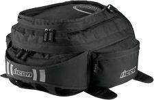Icon Racing Motorcycle Urban Black Tank Bag 3502-0206