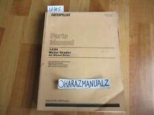 1987 Caterpillar 143h Motor Grader All Wheel Drive 3306 Engine Parts Book Manual