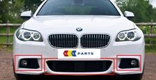 BMW NEW GENUINE F10 F11 5 SERIES 10-14 M SPORT ACC FRONT BUMPER GRILL SET OF 3