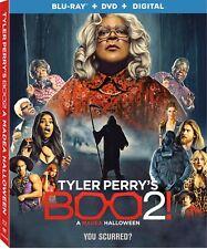 TYLER PERRY'S BOO 2: A MADEA HALLOWEEN Blu-ray/dvd/Digital Copy set, Brand New