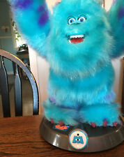 """Monsters Inc Sulley 11"""" Animated Talking Room Guard Thinkway Toys 2001 AMAZING!"""