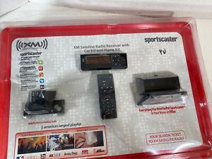 Sportscaster XM Satellite Radio Receiver with Vehicle Kit RHVK101 New, Sealed