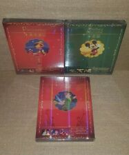 PETER PAN, MICKEY MOUSE & PINOCCHIO [3-DVD SET, CHINA IMPORT] NEW SEALED