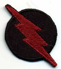 """1.5"""" Professor Zoom [The Flash] Small, Fully Embroidered Red & Black Patch"""