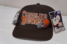Rare Vintage NWT Cleveland Browns NFL ProLine Starter Snapback Hat Cap Deadstock