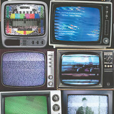 Retro Television Wallpaper Colour TV Sets Quirky Feature Wall by Muriva 102553