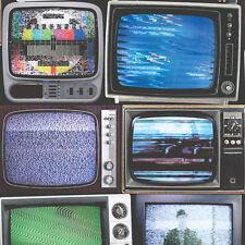 Retro televisión Wallpaper Color Tv peculiar característica Pared por Muriva 102553