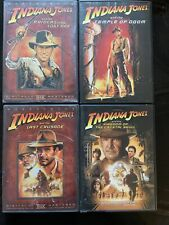 Indiana Jones: Complete Collection (Dvd, 4-Disc Lot) Raiders of the Lost Ark