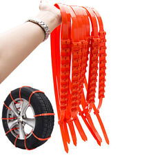 New Anti-skid Tire Chains for Car Auto Sedan SUV Snow Winter Emergency Driving