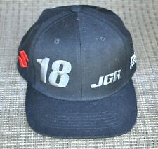 Rare JGR 18 PEICK Black Snapback Cap HAT Suzuki KMC Wheels SUPERCROSS Racing