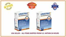 100 UNISTRIP TEST STRIPS EXP 02/2019 use OneTouch Ultra II, Mini, Smart meter