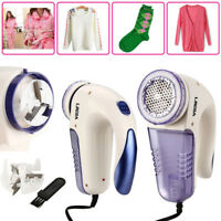 Electric Clothes Lint Pill Fluff Remover Fabrics Sweater Fuzz Shaver W/ Brush 3W