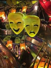 Theatre Of Magic TOM Pinball Machine gold THEATER connected MASKS LED mod Bally