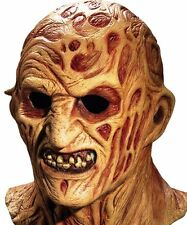 Deluxe Freddy Krueger MasK Nightmare on Elm Street Full Overhead Latex Mask