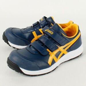 ASICS de Travail Sécurité Chaussures Win Emploi FCP301 Large Marine Jaune Avec