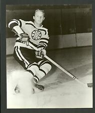 Doug Mohns Boston Bruins 1960s Vintage Hockey Press Photo