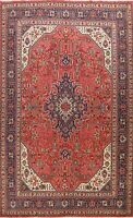 Vintage Geometric Traditional Area Rug Living Room Wool Hand-Knotted 8x11 Carpet