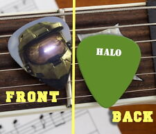 Set of 3 premium Halo Helmet Videogame Promo Guitar Pick Pic