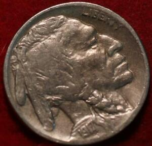 1917-S San Francisco Mint Buffalo Nickel