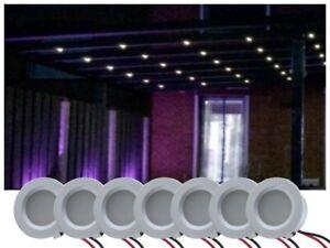 LED Beleuchtung Set Terrassenüberdachung 5-20 Spots kaltweiss Terrassendach
