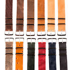 Premium Leather Nato Replacement Watch Strap Band!