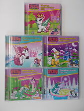 5x CD-Collection-magiques-nr 1+3+4+6+9. Ice unicorn/unicorn/Ice Fairy. théâtrale