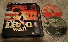 The Iraq War (DVD, 2-Disc Set, 2007) History Channel documentary series OOP