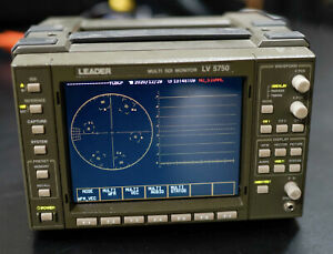 Used Leader LV5750 Multi SDI Waveform Monitor