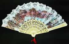 Chinese Print Collapsible Souvenir Hand Fan