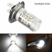 1/2X H7 499 LED 80W 6000K CAR DIPPED BEAM HEADLIGHT BULBS LAMP LIGHT WHITE 900LM