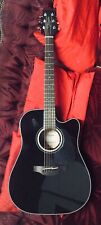 More details for takamine electro acoustic guitar with hard case