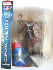 Figurine Marvel select disney U.S. excusif CAPTAIN AMERICA