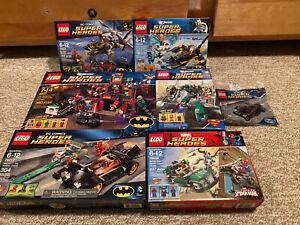 Lego DC Marvel Super Heroes 6857 76012 30300 76004 76011 76000 6862