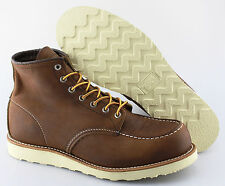 Men's RED WING 'Heritage' Bourbon Yuma Moc-Toe Leather Boots Size US 12 - D