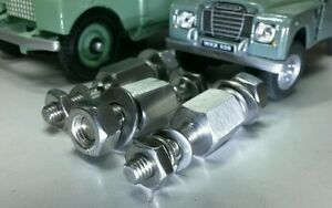 Land Rover Series 1 86 88 107 2 2a Smiths Round Heater Mounting Spacers Bolts