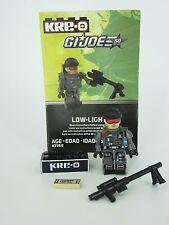 KREO KRE-O G.I. JOE COBRA ACTION MINI FIGURE LOW LIGHT KREON MINIFIG SERIES 3
