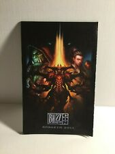 2011 BlizzCon Gaming Convention Foldout Map/Program