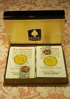Rare 2 Deck Set Of Russell Deluxe US Playing Cards,Tax Stamp,Sealed ,Mint.Cond!!