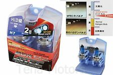 2x MTEC H7 12V 55W-100W Headlights Halogen Fog Bulb 4350k SUPER WHITE HID CLASS