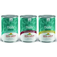 More details for almo nature daily wet dog food tins duck lamb turkey 24 pack