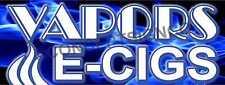 2'X5' VAPORS E-CIGS BANNER Signs Smoke Shop Electronic Cigarettes Pipes Vape
