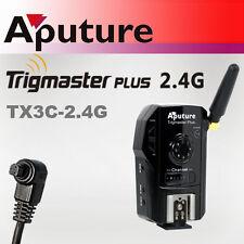APUTURE TX3C TRIGMASTER PLUS 2.4G TELECOMANDO CANON 5D FLASH TRIGGER REMOTE