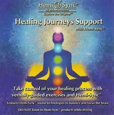 Healing Journeys Support Hemi-Sync Monroe Products new 4 verbal self-help CD 1hr